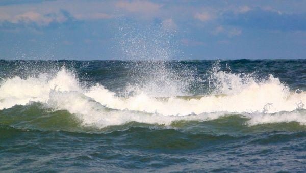 Indiana Dunes waves