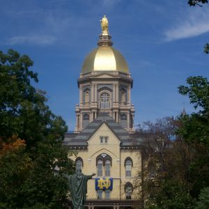 University of Notre Dame Main Building (The Golden Dome)
