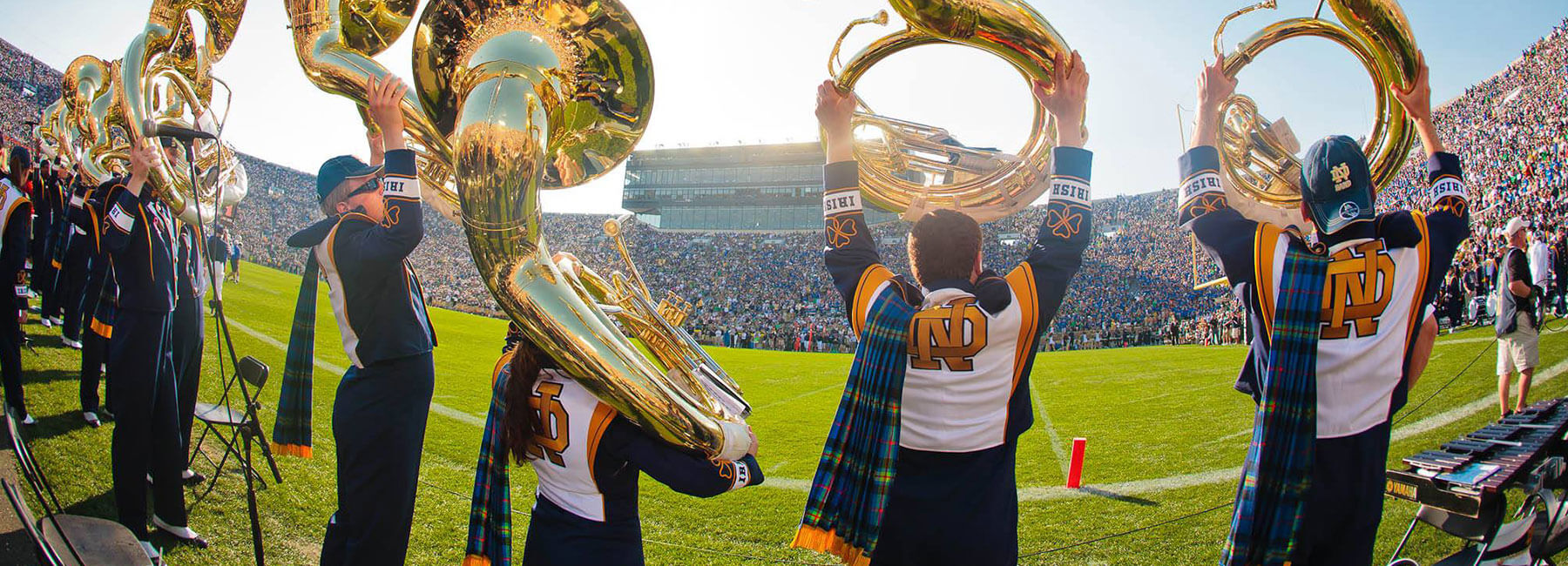 Southbend Notre Dame Football Marching Band