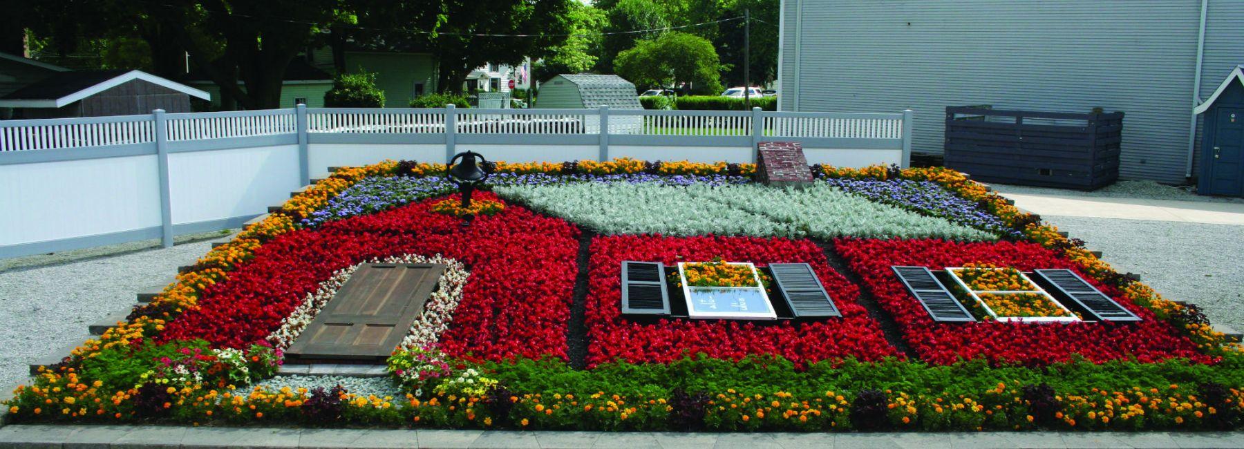 Elkhart Flowerbed