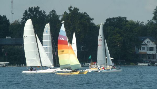 Kosciusko Sailboats Winona Lake