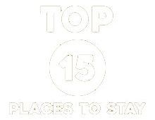 Top 15 Places to Stay