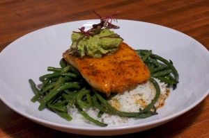 Pan Roasted Salmon Filet