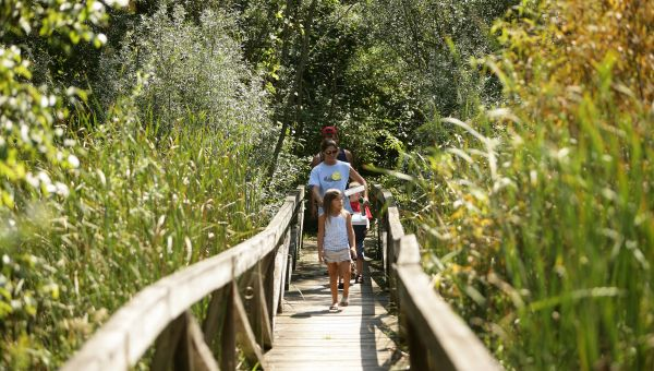Family at Potato Creek State Park