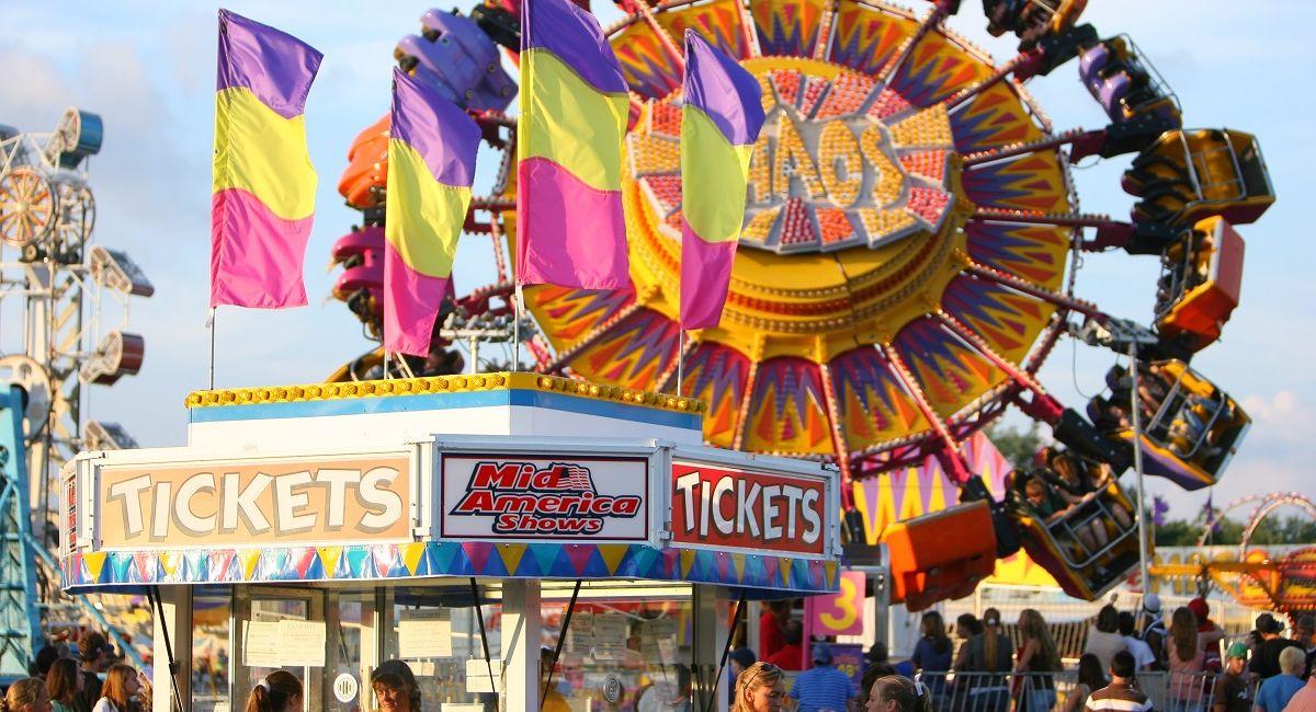 Ferris Wheel at festival