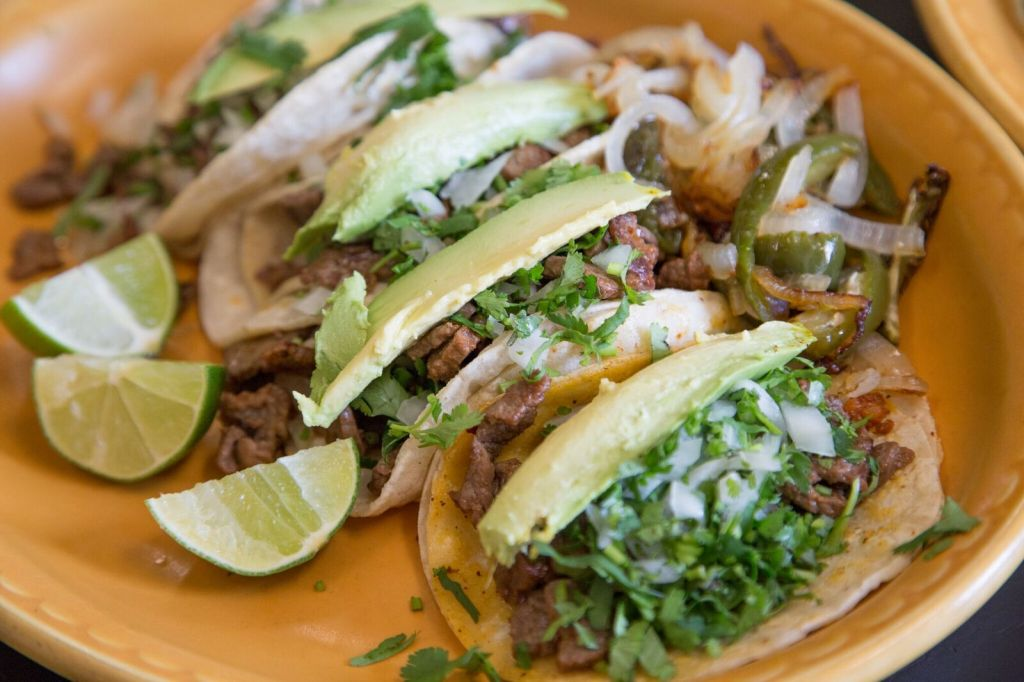 Tacos from Courtside Restaurant & Lounge in LaGrange, Indiana