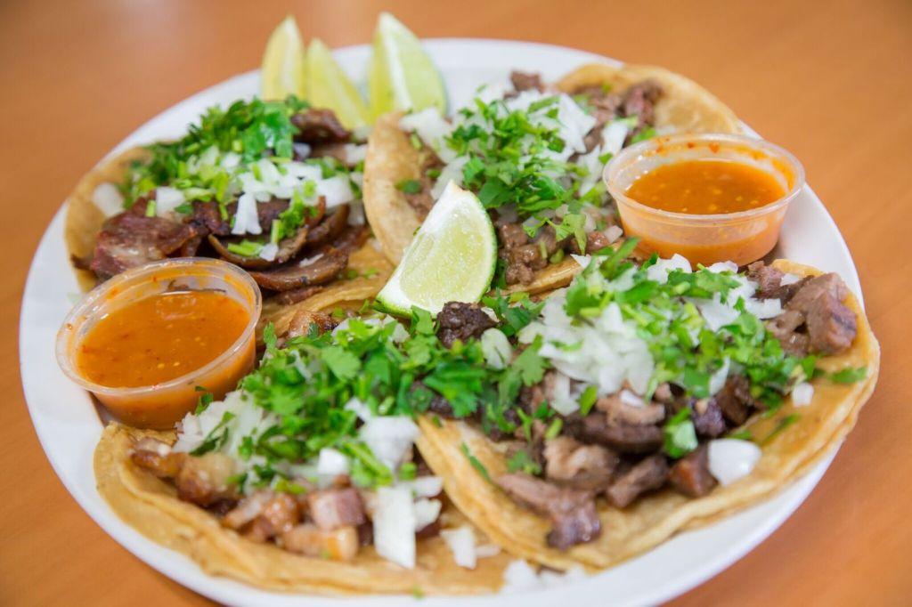 Tacos from Woodfire Meat Market in Valparaiso, Indiana