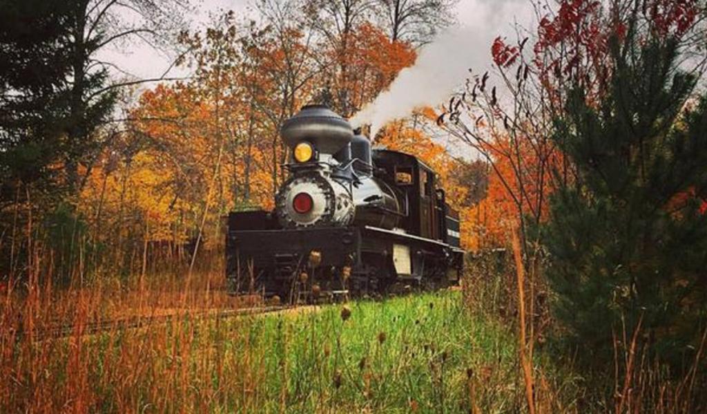 Hesston Steam Museum Halloween Ghost Train