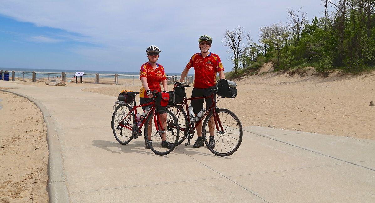 Dunes biking