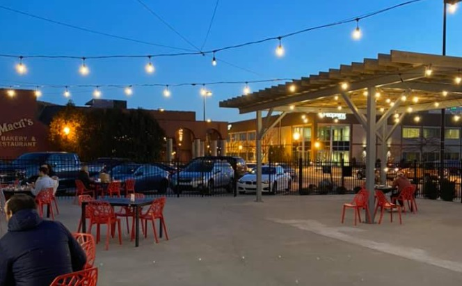 The Lauber - outdoor dining