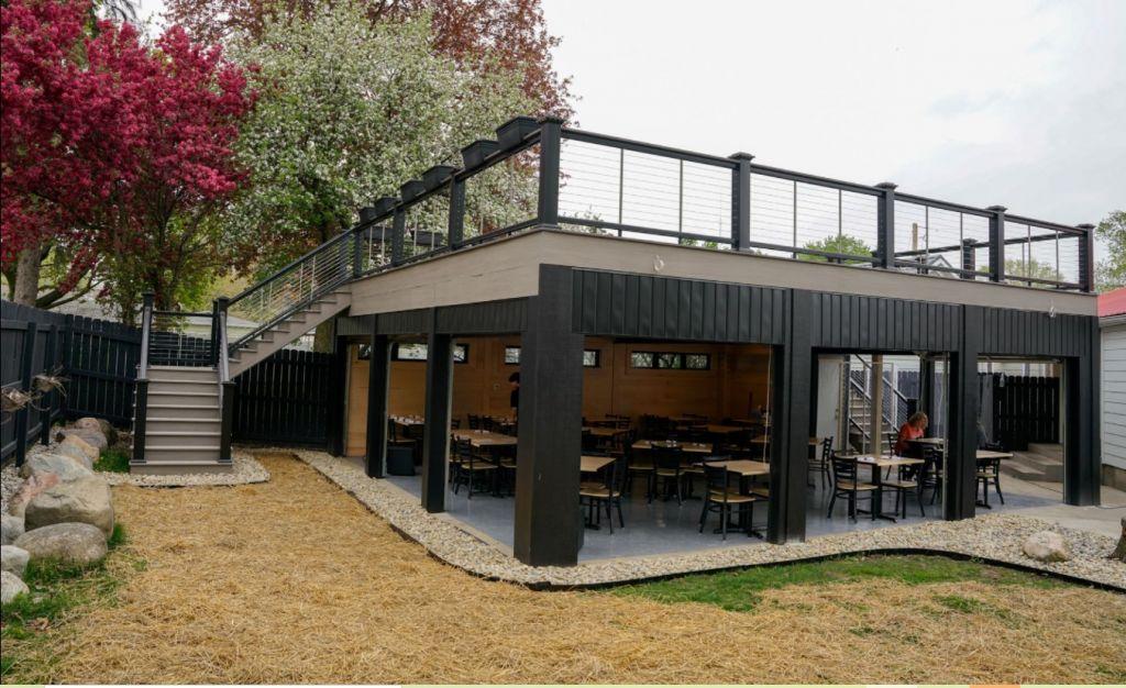 West on Warren - outdoor dining