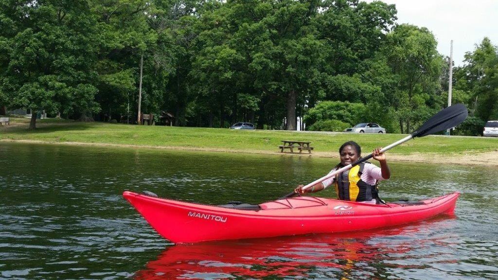Kayaking Stone Lake