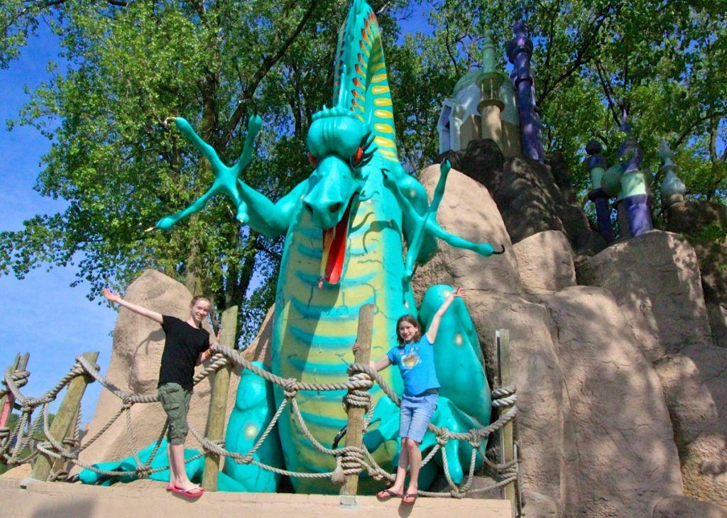 Zao Island stone dragon